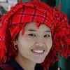 Traditional Shan dress, Burma.