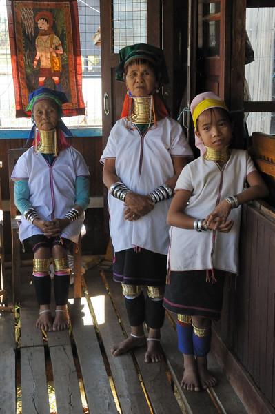 Women of the Padaung tribe