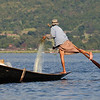 Leg-rower fisherman on Lake Inle