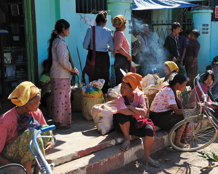 Life in Yawnghwe, Lake Inle, Burma.