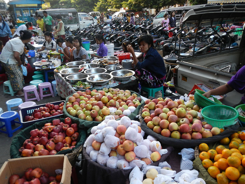 Market in Mandalay