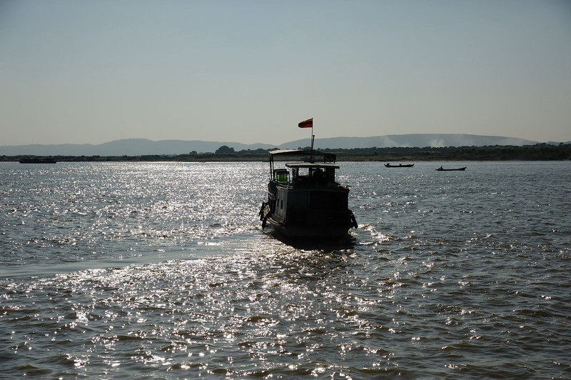 On the Irrawaddy river