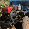 Splendid example of simple Chinese tractor.