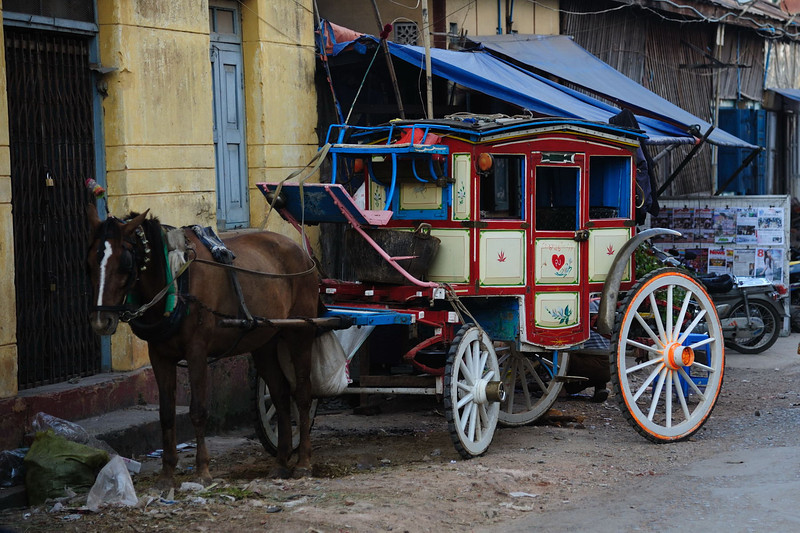 Typical stage coach in Maymyo