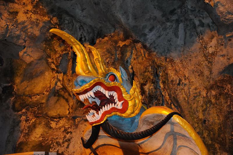Splendid Naga in Pindaya cave