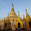 Shwedagon Pagoda, Rangoon, Burma.