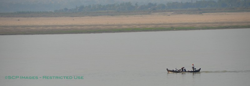 Traveling on the Irrawaddy