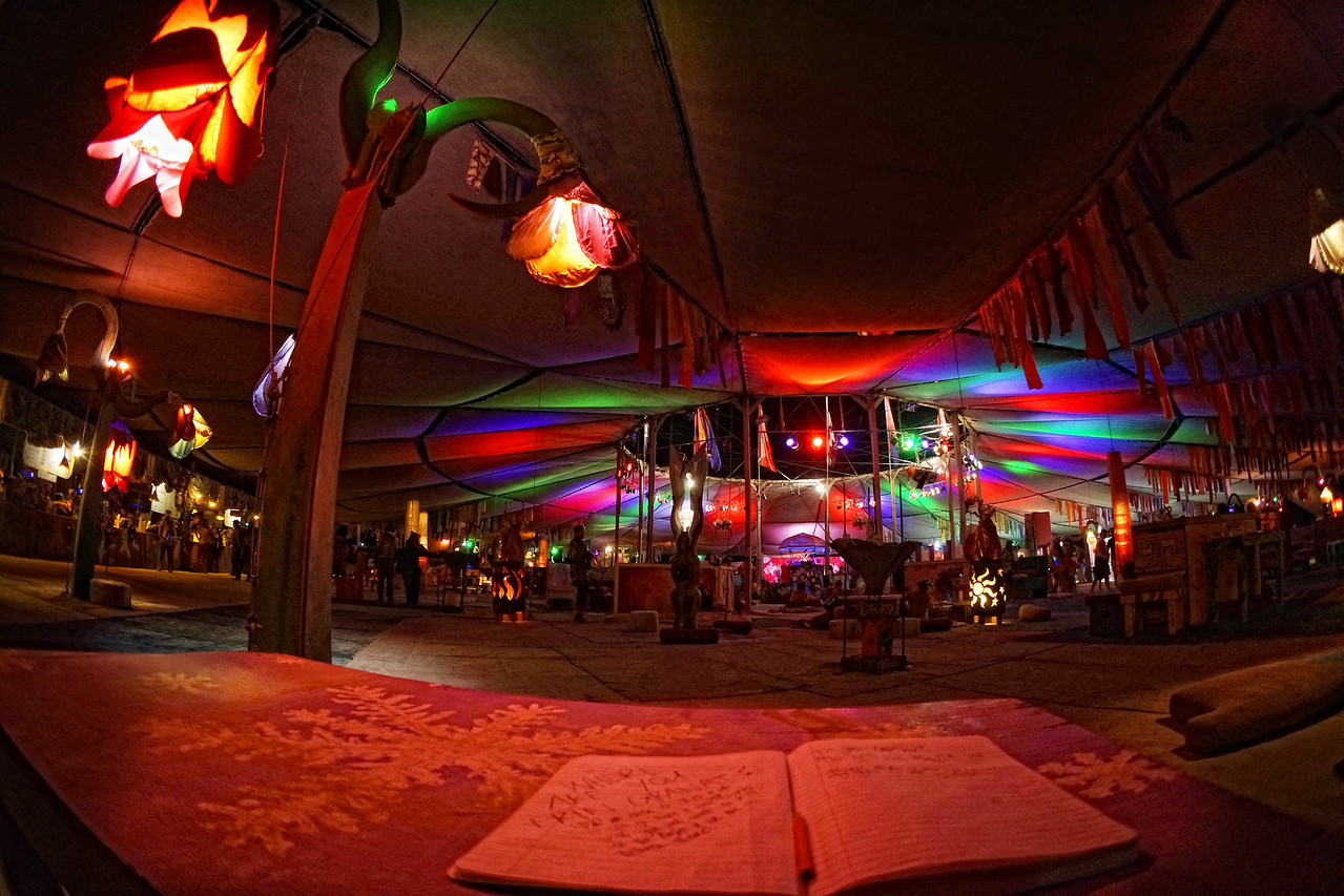 Center Camp - The refuge at Burning Man
