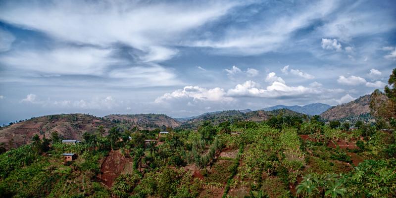 oberhalb von Bujumbura