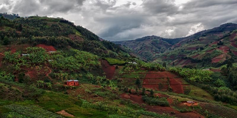 Berge in Burundi