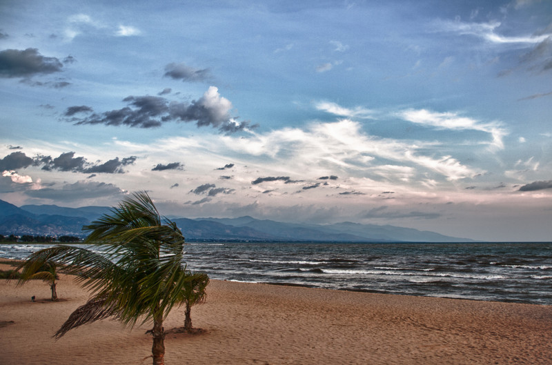 Strand am Tanganjikasee in Bujumbura