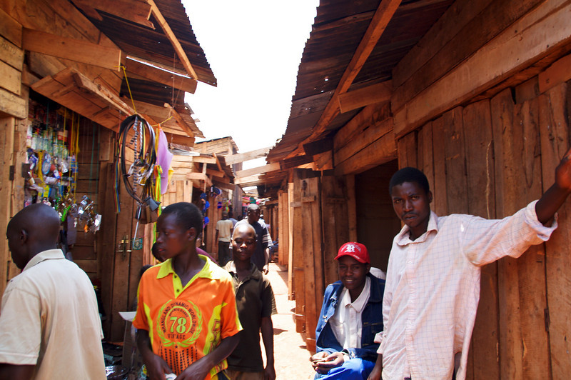 Markt in Ngozi