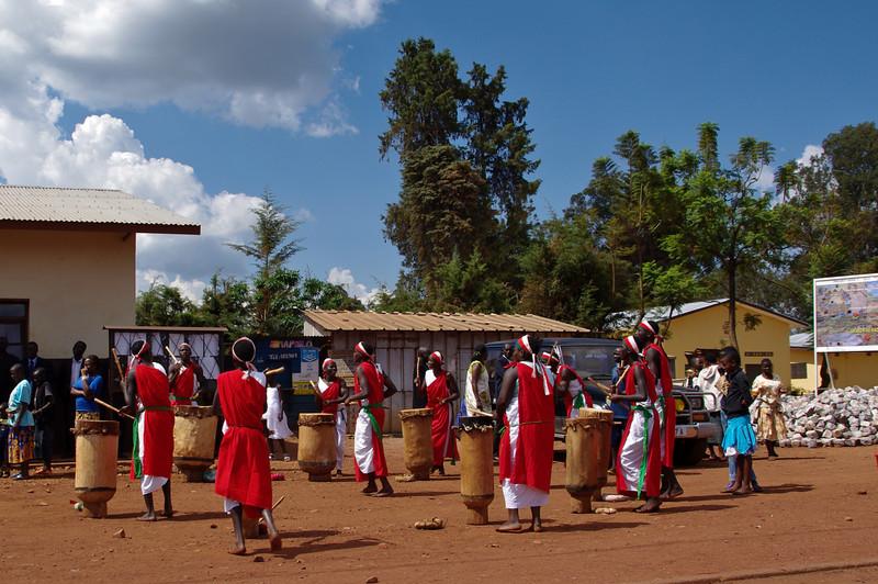 Burundischer Trommeltanz