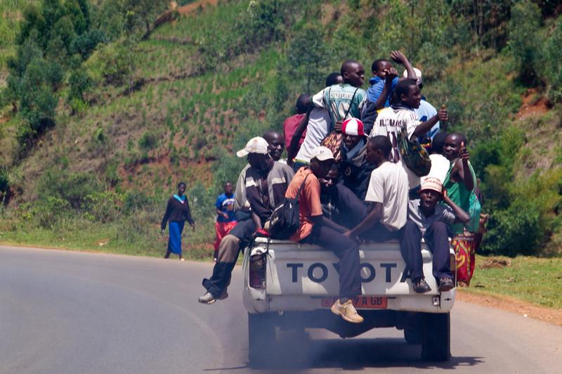 Gruppen - Transport