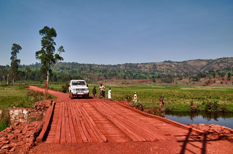 Reisplantage in der Nähe von Ngozi