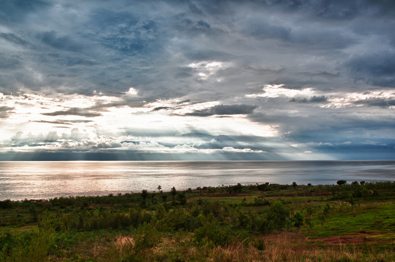 Abendstimmung nahe Bujumbura