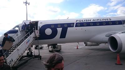 De-planing in Warsaw