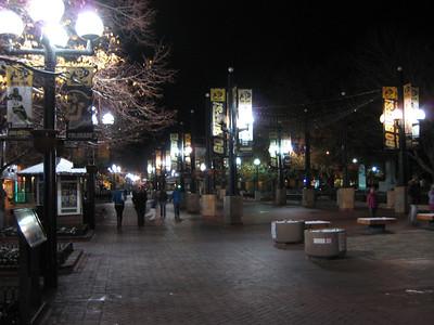 Pearl St at Night