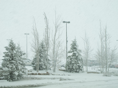 Snowstorm in Broomfield