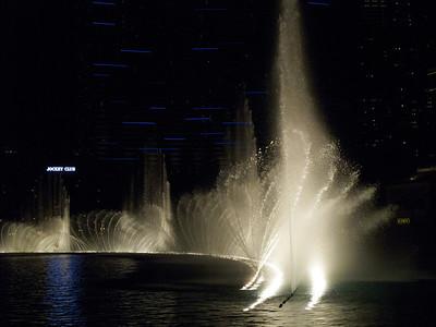 The Bellagio Fountain Show