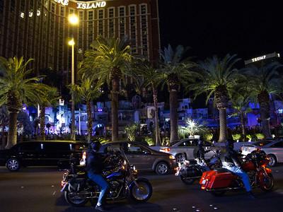 Bikes on Las Vegas Blvd