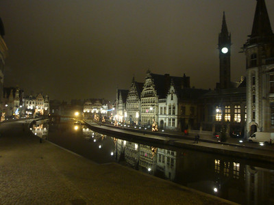 Downtown Gent, at Christmas