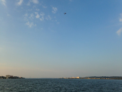 Taking Off Over the Potomac