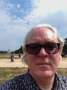 Gary on the National Mall