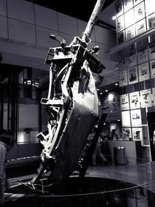 World Trade Center Antenna at the Newseum