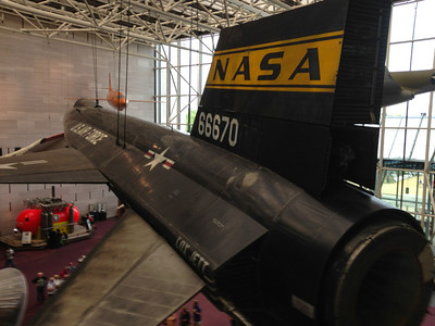 X-15 at the Air and Space Museum