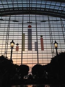 Tableau Logo in the Atrium