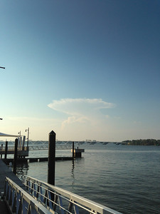Clouds Over the Potomac