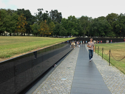 The Vietnam War Memorial