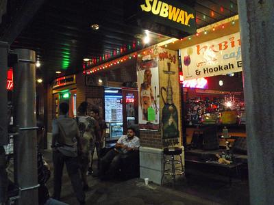 Subway and Habibi