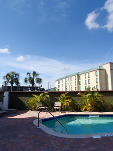 By the Pool, Marriot Residence Inn