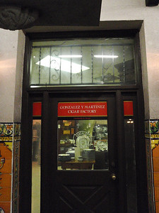 Gonzalez y Martinez Cigar Factory
