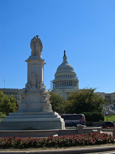The Civil War Sailors Monument and the Capitol Building