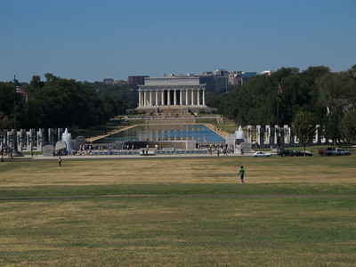 The Lincoln Memorial Seen From the Washington Monument