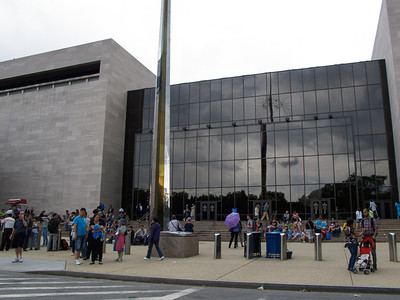 Outside the Air and Space Museum
