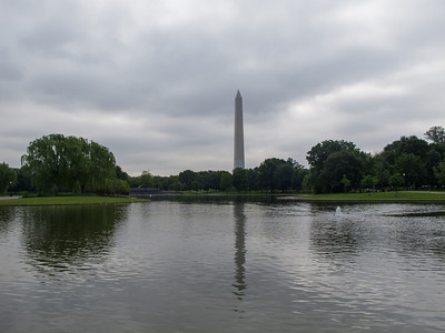 Reflected Washington Monument