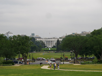 The White House from  the Washington Monument