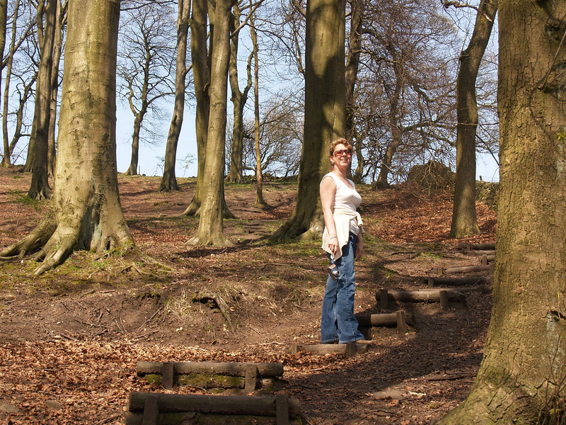 Andrea in Corbar Woods