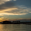 Senset behind the Wild Duck Marina