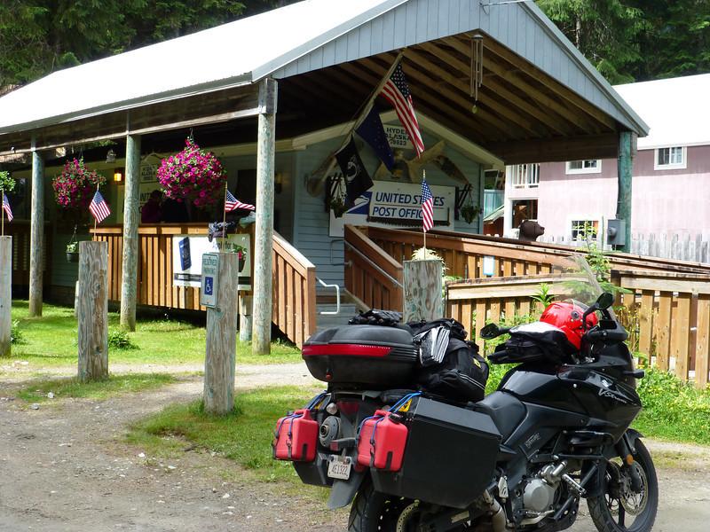 U.S. Post Office, Hyder, Alaska.