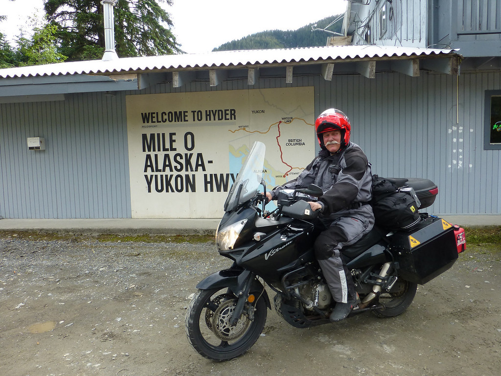 Hyder, Alaska. The map says it all....some of the best riding EVER!!!