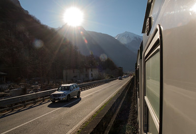 Train trip from Val Chiavanna to Colico