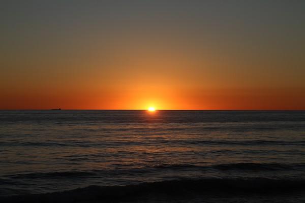 California Central Coast Sunsets 12/2015
