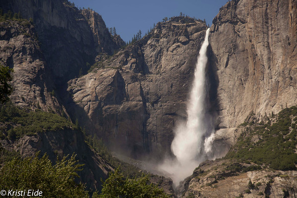 Yosemite Nat'l Park Hikes from the main valley