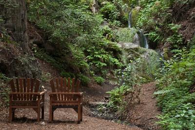 Waterfall, Deetjen's Big Sur Inn