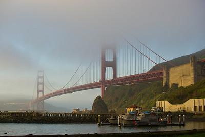 Golden Gate Bridge San Francisco Bay